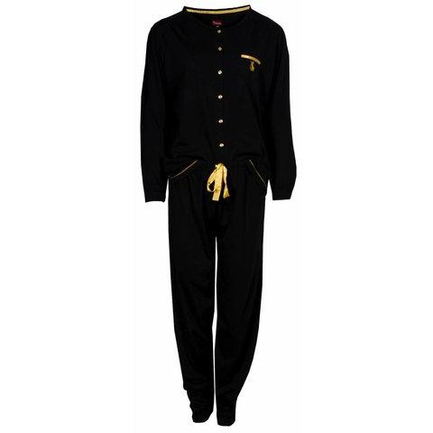 Dames pyjama MEPYD2401A-Zwart-O9