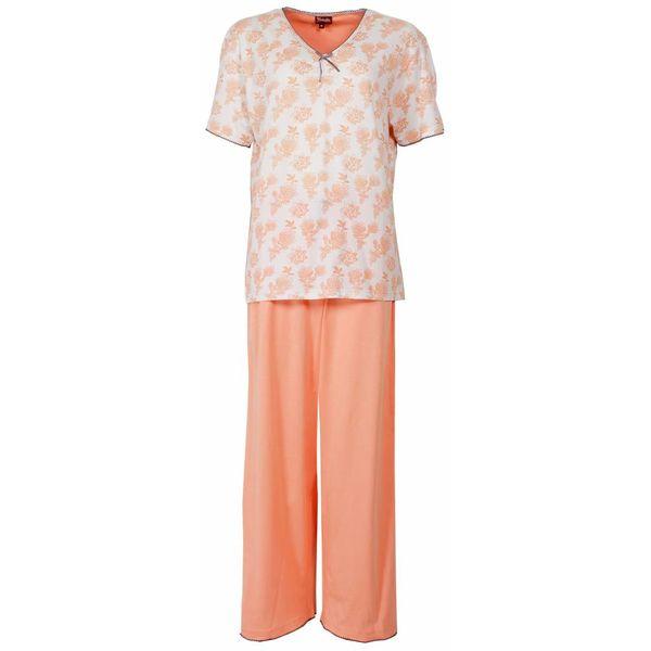 Medaillon Dames pyjama MEPYD1302A-Oranje-P9