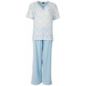 Medaillon Dames pyjama MEPYD1302B-Blauw-L11