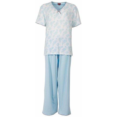 Dames pyjama MEPYD1302B-Blauw-L11