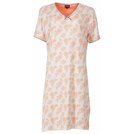 Medaillon Dames nachthemd MENGD1301A-Oranje-L15