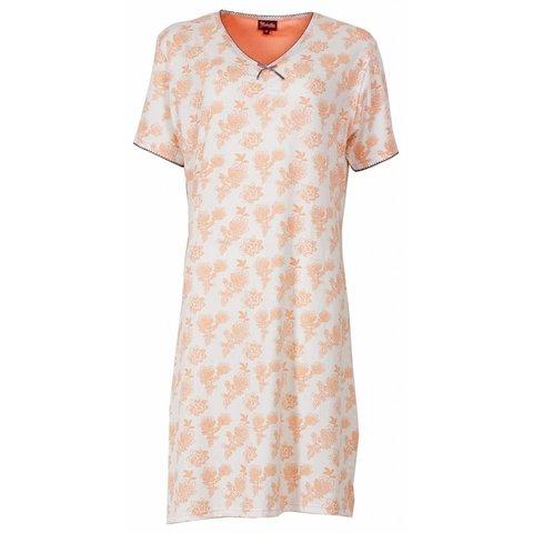 Dames nachthemd MENGD1301A-Oranje-L15