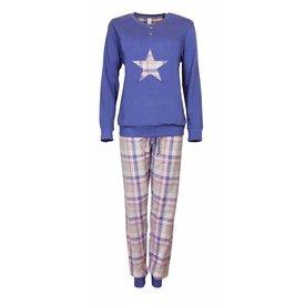 Irresistible Dames Pyjama IRPYD2703B-Blauw-X3