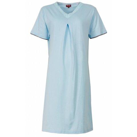 Dames nachthemd MENGD1303B Blauw O16