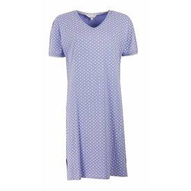 Tenderness Dames nachthemd TENGD1201C-Blauw-RM1