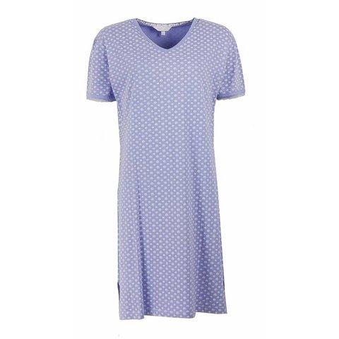 Dames nachthemd TENGD1201C-Blauw-RM1