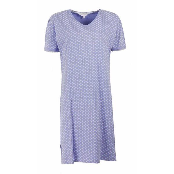 Tenderness Dames nachthemd TENGD1201C-Blauw
