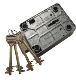 Opcja do szafa na broń Zamek kluczowy 4 klucze