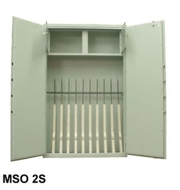 1415 MSO2 2S Szafa na broń dwudrzwiowa