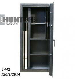 HunterSafes 1442 G-2 1S 1P NT Szafa na broń/amunicję