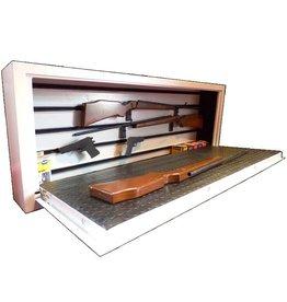 Szafa na broń z szybą kuloodporną 1669/S1 pozioma