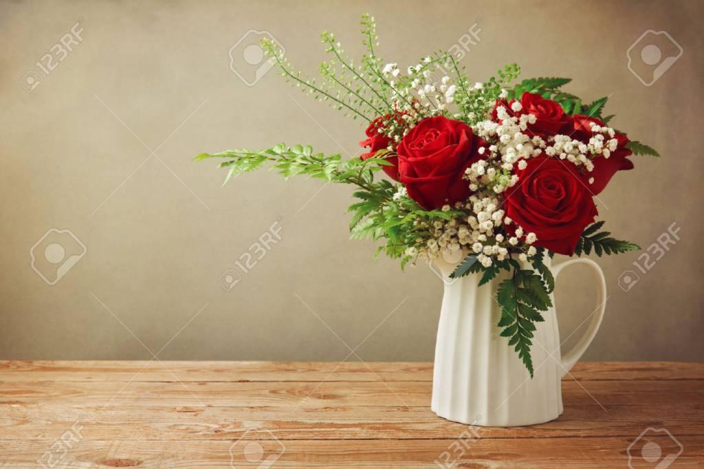 Woody Rose flower bouquet