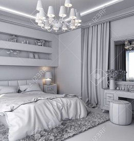Garage White theme bedroom