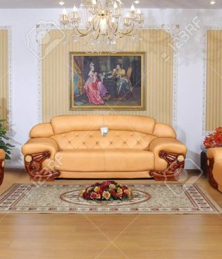 Vintage Vintage Living Room