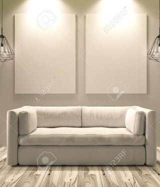 Miller White Sofa Set