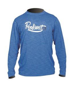 UV werend T-shirt Blauw Long Sleeve - Prolimit