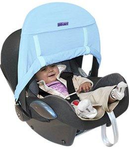 Zonnekap Babyzitje Zero+ Blauw - Dooky