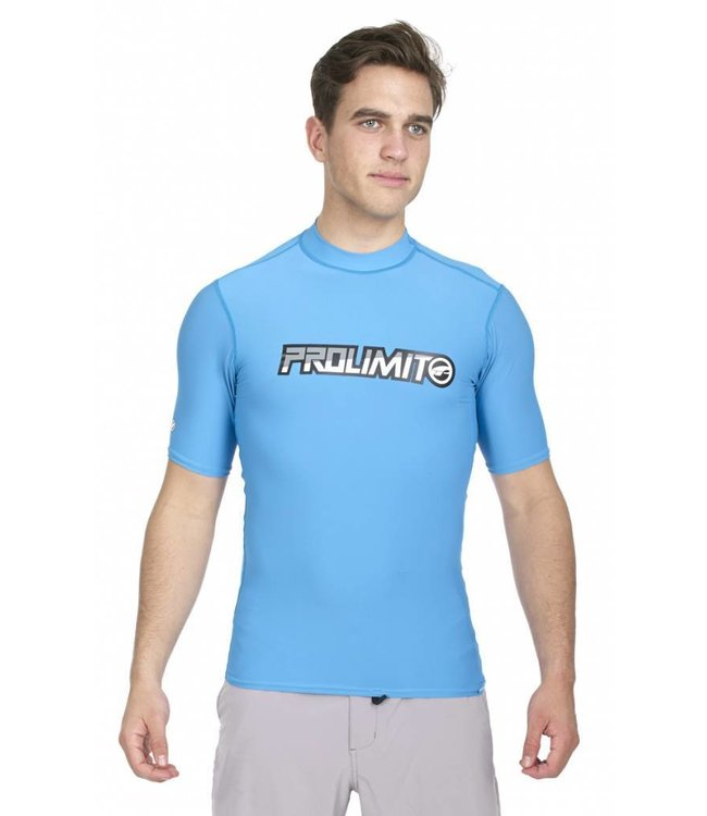 UV Zwemshirt Heren Turquoise Multilogo - Prolimit