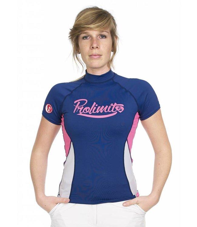 UV Shirt Dames Pure Girl Blauw - Prolimit
