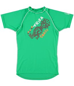 UV werend shirt Heren 'Triba Coast' groen - Sonpakkie