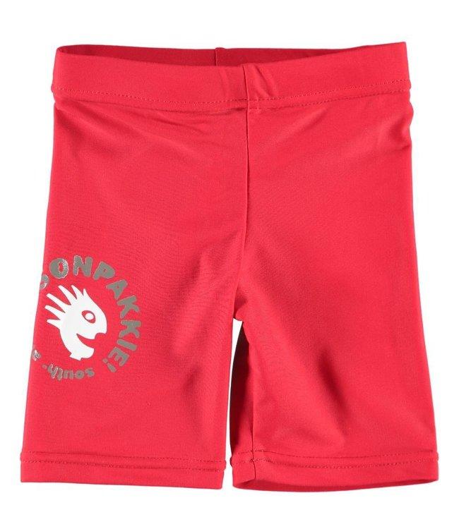 Jongens Zwembroek 'Wave Man Dot' rood - Sonpakkie