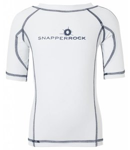 UV Shirt Jongen Wit & Blauw - Snapper Rock