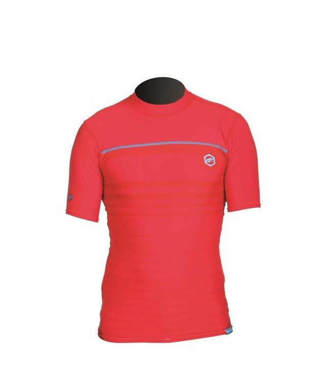 UV Zwemshirt Heren Stripe Rood - Prolimit