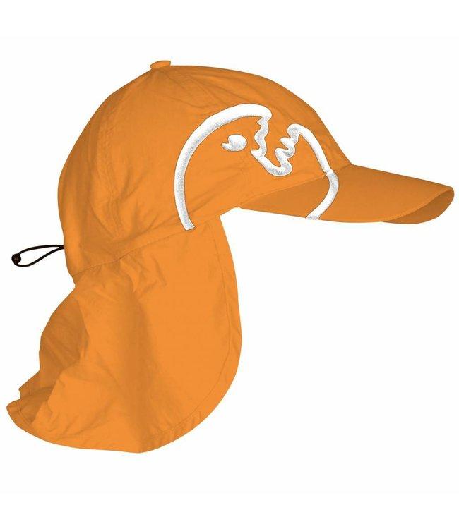 UV pet kind nekflap oranje - IQ-UV