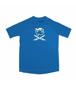 UV werend shirt blauw kind 6-14jr - IQ-UV