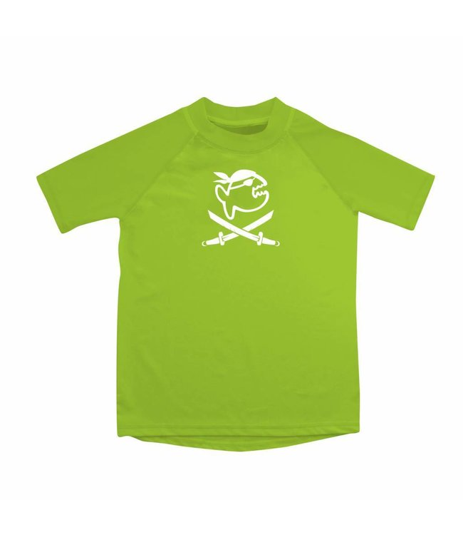 UV werend shirt groen kind 6-14jr - IQ-UV