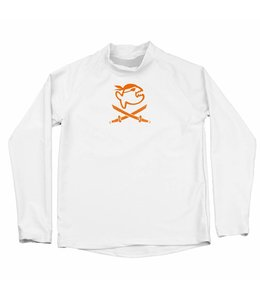 UV werende long sleeve wit (6-14jr) - IQ-UV