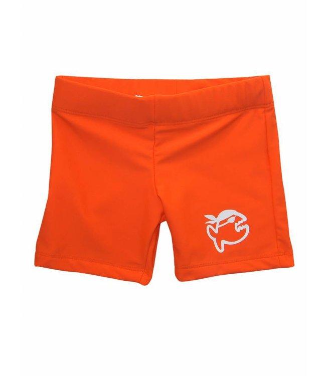 UV zwembroek oranje - IQ-UV