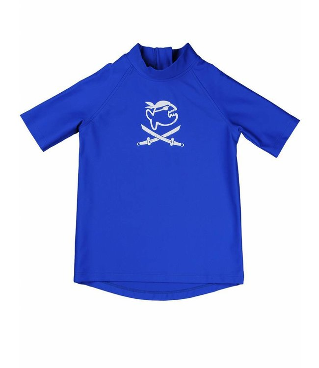 UV shirt blauw korte mouwen - IQ-UV