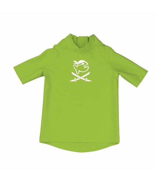 UV shirt groen korte mouwen - IQ-UV
