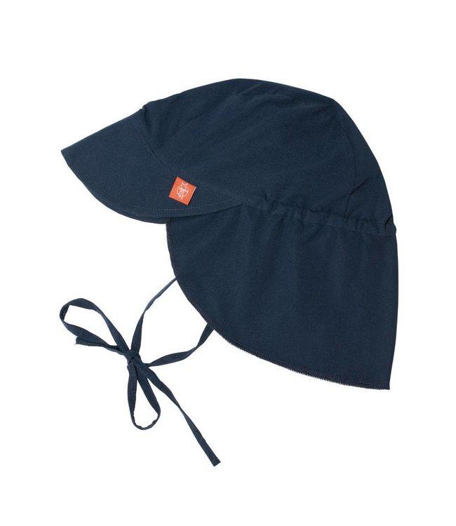 Zonnepet donker blauw met nekbescherming - Lässig