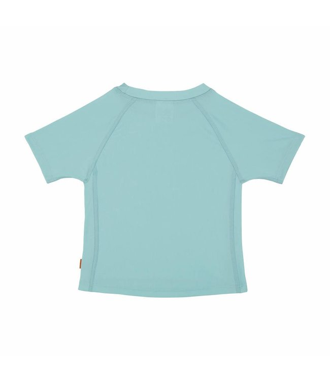 UV shirt aqua blauw korte mouw meisjes - Lässig