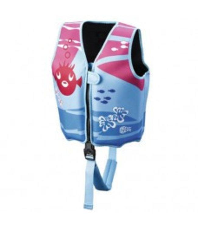 Kinderzwemvest / drijfpakje meisjes - Beco