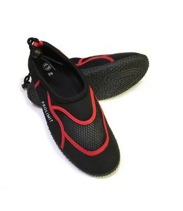 Waterschoen / Beach Shoe Zwart-Rood - Prolimit