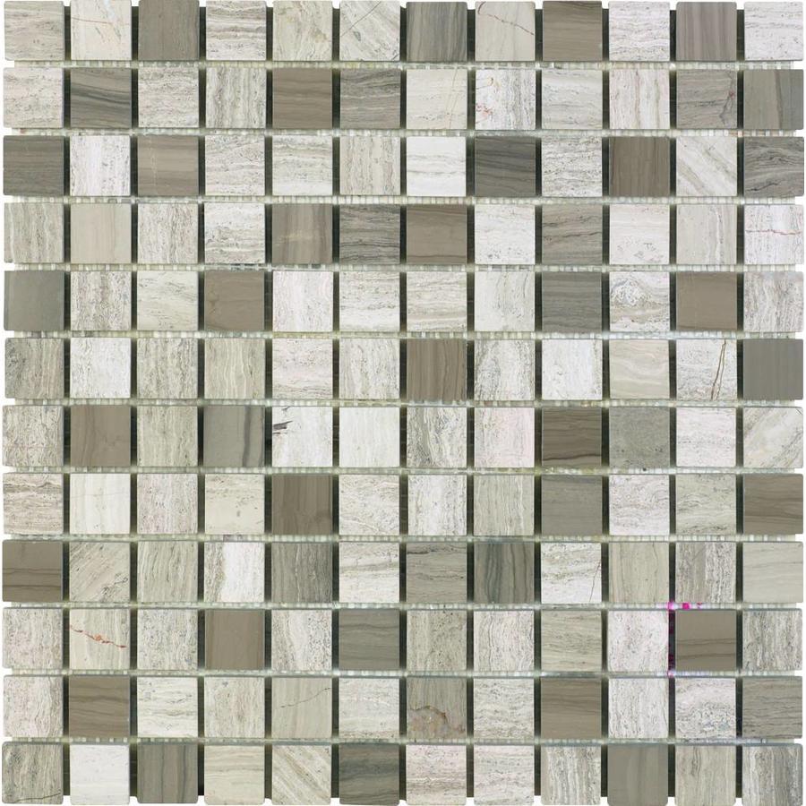 Mozaiek: Dekostock Kolda Grijs 30,5x30,5cm