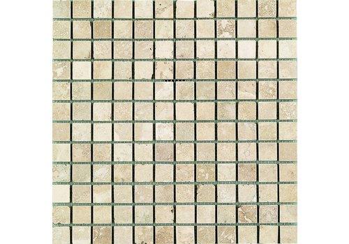 Mozaiek: Dekostock Antalya Beige 30,5x30,5cm