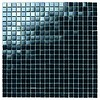 Dekostock Mozaiek: Dekostock Lake Zwart 32,7x32,7cm