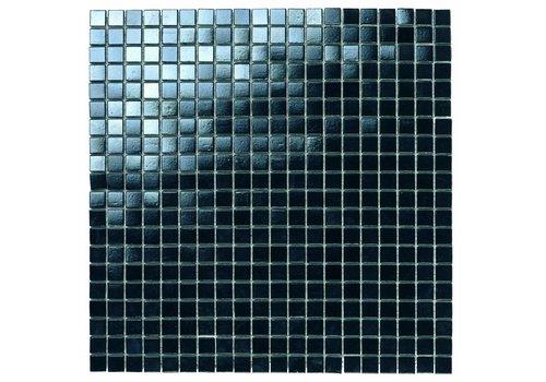 Mozaiek: Dekostock Lake Zwart 32,7x32,7cm