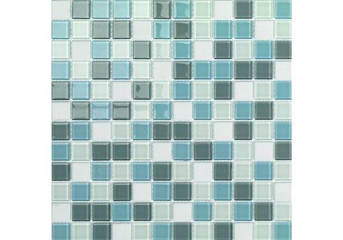 Mozaiek: Dekostock Sky Blauw 29,8x29,8cm