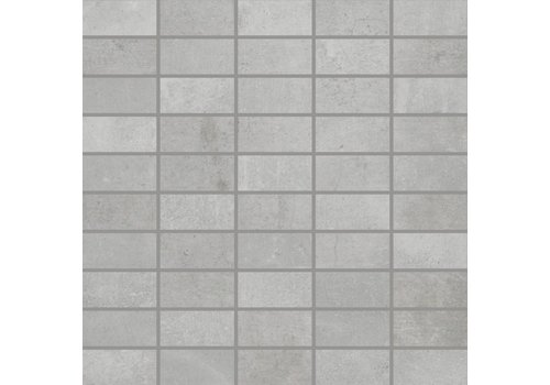 Rak Mos5x5cementinalgr 30x30 vt light grey matt