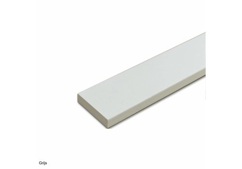 DuraStyle dorpel 1000x70x20 mm composietsteen grijs