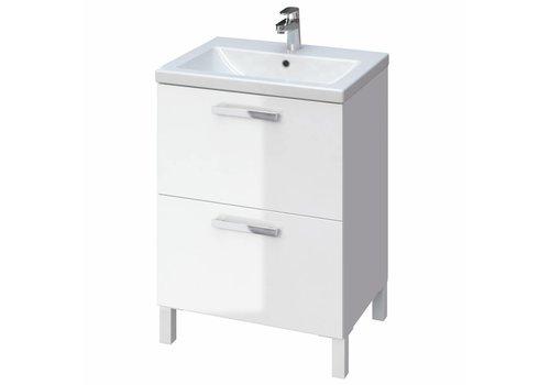 Cersanit Como Melar meubelset 60 cm wit incl spiegel
