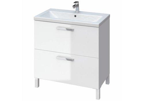 Cersanit Como Melar meubelset 80 cm wit incl spiegel