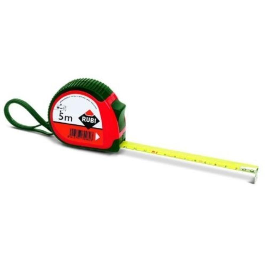 Rubi anti-schok rolbandmaat 5 mt 25 mm