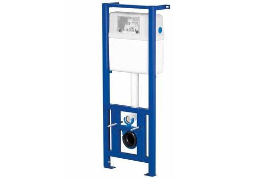 LW-Cersa inbouwreservoir 40 cm br 112-129 cm hg