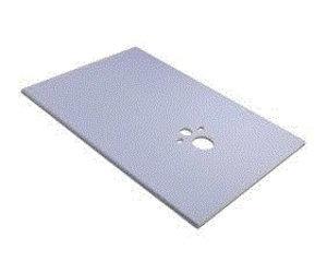 Bouwplaat Voor Badkamer : Permoxx wc board mm bouwplaat incl uitsparingen